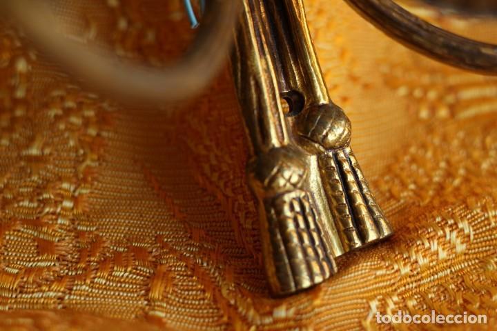Antigüedades: ANTIGUOS APLIQUES Aplique DE BRONCE dorado ESTILO Luis XV - Foto 3 - 149985206