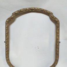 Antigüedades: BONITO MARCO PARA ESPEJO DE TOCADOR. O PARA FOTO O CUALQUIER OTRA DECORACION. BRONCE, ANTIGUO.. Lote 150015968