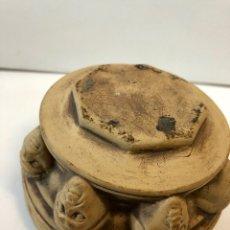 Antigüedades: ANTIGUO PRECIOSO MORTERO FIRMADO S.MARTORELL. Lote 150029362