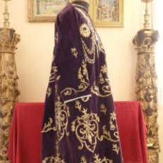 Antigüedades: TÚNICA DE TAMAÑO NATURAL PARA UNA IMAGEN VESTIDERA O CAP I POTA. SIGLOS XVIII-XIX.. Lote 150030914