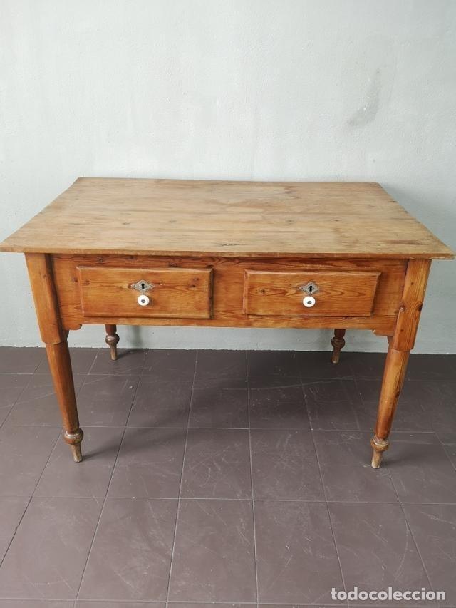 Antigua y preciosa mesa de cocina valenciana en - Verkauft ...
