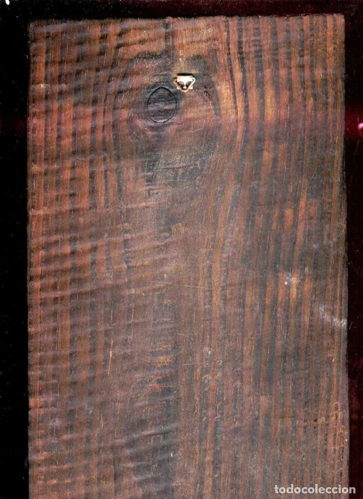 Antigüedades: PRECIOSO CUADRO: LA VIRGEN INMACULADA DE MURILLO: LAMINA BARNIZADA SOBRE MADERA - Foto 2 - 150091202