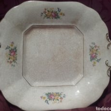 Antigüedades: BANDEJA DE LA CARTUJA DE PICKMAN, SELLO VERDE AL DORSO. Lote 150093005