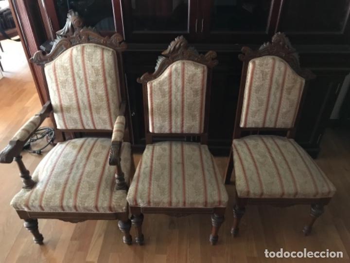 lote 6 sillas comedor estilo castellano - Kaufen Antike Stühle in ...