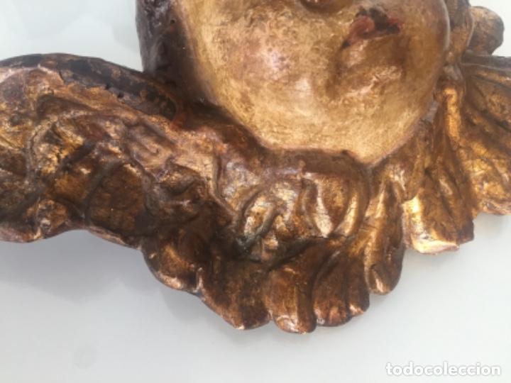 Antigüedades: ANTIGUO QUERUBÍN SIGLO XVII - Foto 7 - 150113502