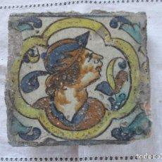 Antigüedades: AZULEJO SIGLO XVII (TRIANA). Lote 150173750