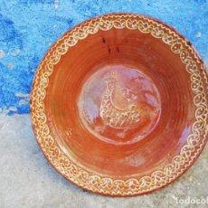 Antigüedades: LEBRILLO ANTIGUO DE UBEDA 47 CMS. DE DIAMETRO Y 14 CMS. DE ALTURA. Lote 150190458