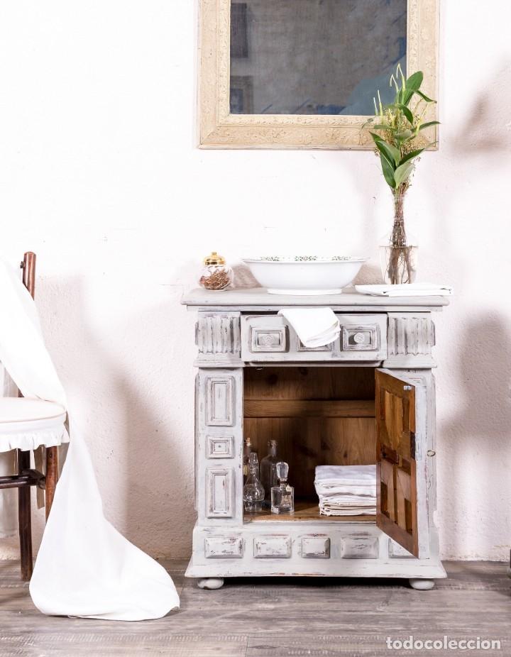 Antigüedades: Mueble Auxiliar Restaurado Chandler - Foto 2 - 149856102