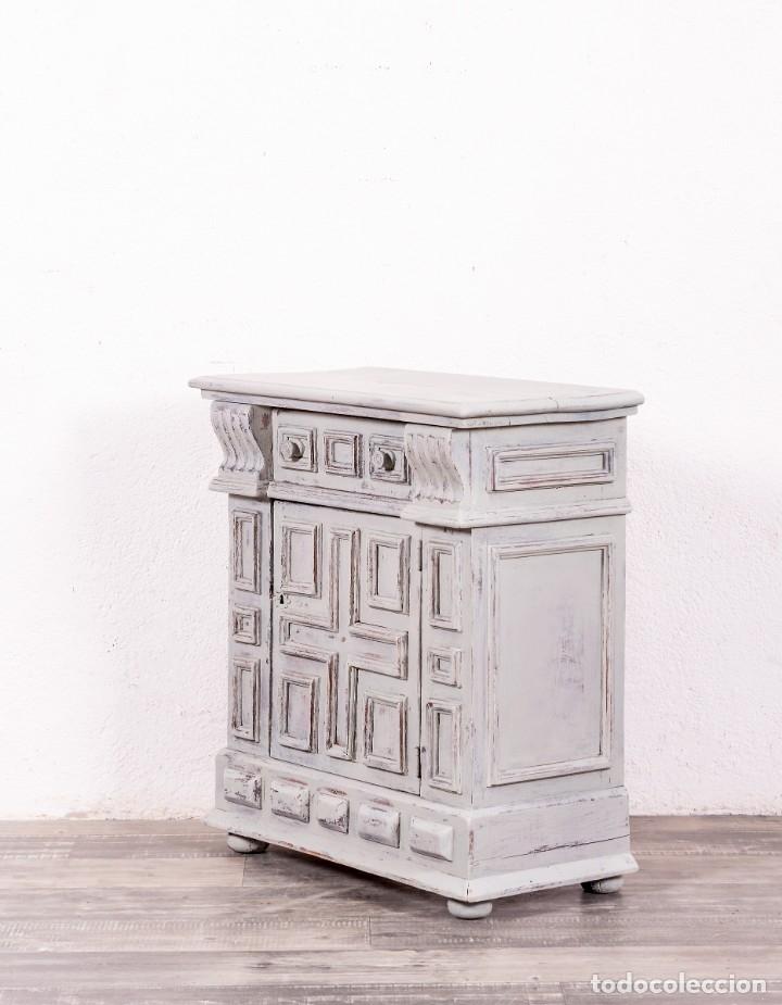 Antigüedades: Mueble Auxiliar Restaurado Chandler - Foto 3 - 149856102