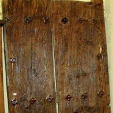 Antigüedades: PUERTA DE CLAVOS DEL SIGLO XVIII. Lote 150249294