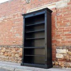 Antigüedades: ESTANTERÍA LIBRERÍA ANTIGUA ESTILO ALFONSINO. ARMARIO LIBRERO ANTIGUO, ARMARIO ESTANTERÍA.. Lote 150272482