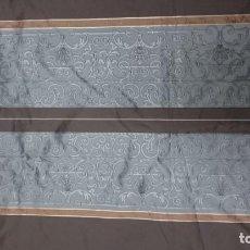 Antigüedades: TELA DE GABARDINA DE NINA RICCI. 440X380 CM. Lote 172811123