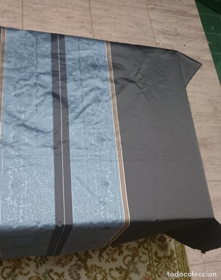 Antigüedades: Tela de gabardina de Nina Ricci. 440x380 cm - Foto 3 - 172811123