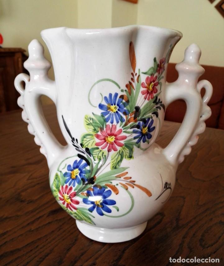 JARRA DE NOVIA DE CERAMICA LARIO (Antigüedades - Porcelanas y Cerámicas - Lario)