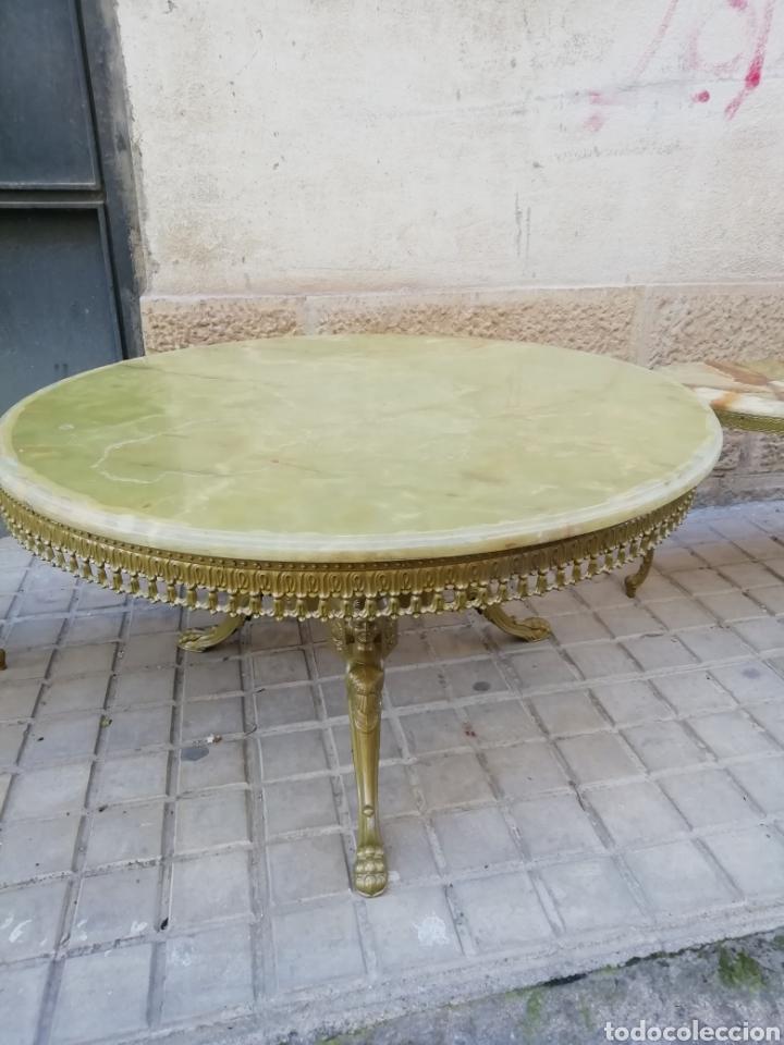 VELADOR DE BRONCE (Antigüedades - Muebles Antiguos - Veladores Antiguos)