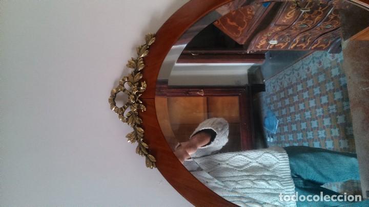 Antigüedades: Excepcional tocador de roble, nogal, etc... con dorados puro siglo diecinueve por tan sólo - Foto 3 - 150356570