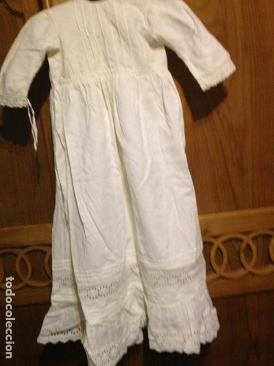 Antigüedades: Vestido niña 1900/1905 con capa separada VER FOTOS - Foto 7 - 150461010