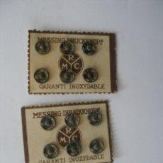 Antigüedades: ANTIGUOS CORCHETES. Lote 150469958