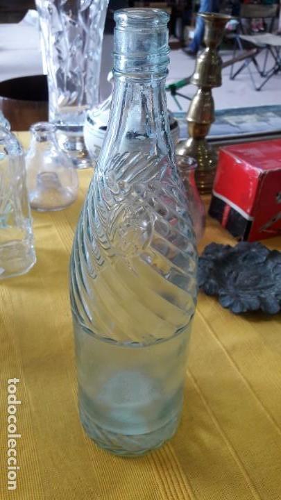 BOTELLA DE CRISTAL (Antigüedades - Cristal y Vidrio - Otros)
