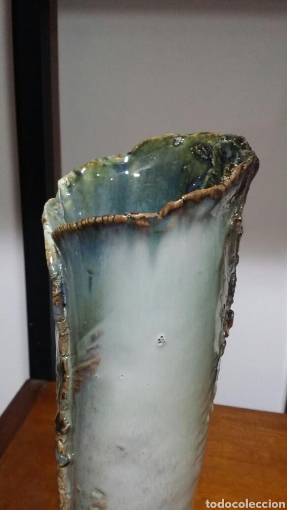 Antigüedades: Jarrón cerámica Fernando Porto - Foto 4 - 150502300