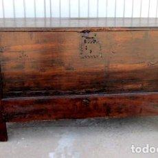 Antigüedades: ARCON ANTIGUO EN MADERA DE CASTAÑO, SXVIII . Lote 150533562