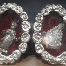 Antigüedades: PAREJA RELICARIOS. Lote 150535038