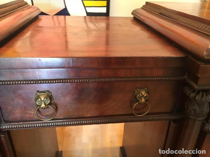 Antigüedades: Aparador Trinchero Victoriano de madera de Caoba - Foto 3 - 150542238