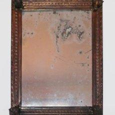 Antigüedades: CASSETTA FRAME S.XVIII SPECCHIO VENETIAN MIRROR – ESPEJO VENECIANO MARCO CORNUCOPIA WOOD SEASHELL. Lote 150567290