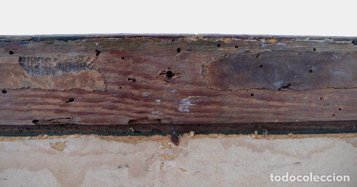 Antigüedades: CASSETTA FRAME S.XVIII SPECCHIO VENETIAN MIRROR – ESPEJO VENECIANO MARCO CORNUCOPIA WOOD SEASHELL - Foto 10 - 150567290