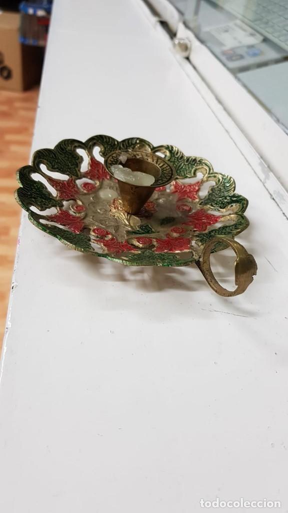 PORTA VELAS (Antigüedades - Hogar y Decoración - Portavelas Antiguas)