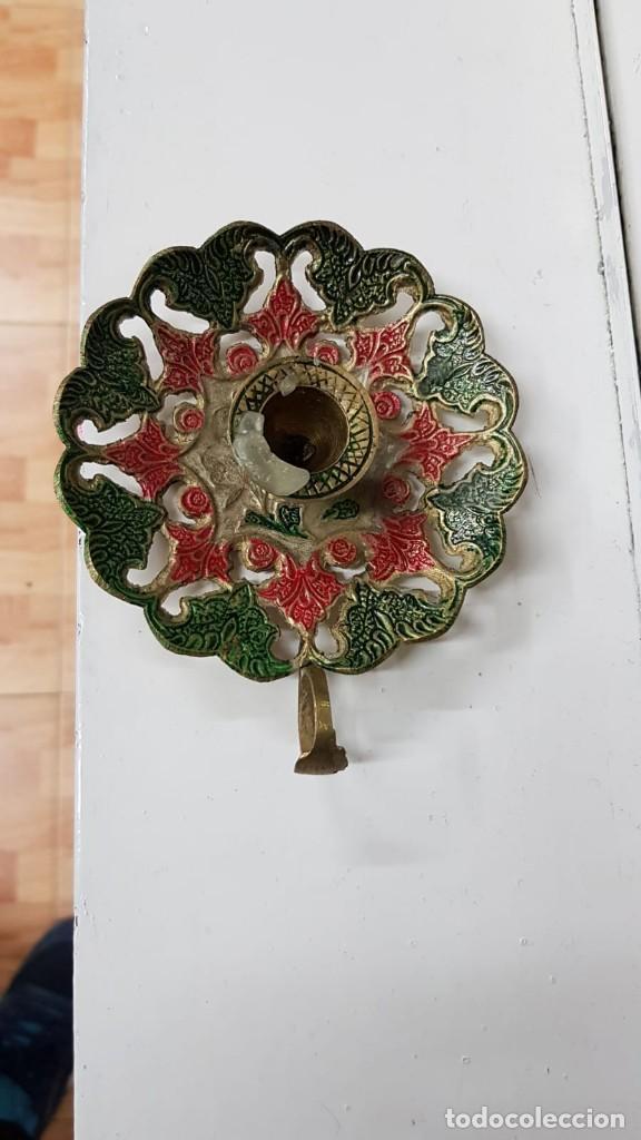 Antigüedades: Porta velas - Foto 2 - 150575014
