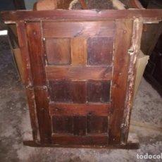 Antigüedades: VENTANA MADERA PARA UTILIZAR CON REJA Y PESTILLO, Pº XX. Lote 150586330