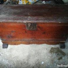 Antigüedades: ANTIQUISIMA ARCA ARCON XIX PARA RESTAURAR. Lote 150586642