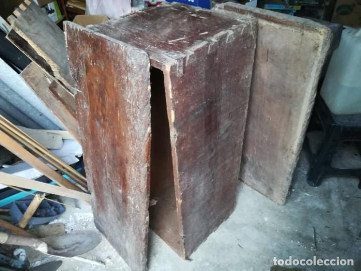Antigüedades: antiquisima arca arcon xix para restaurar - Foto 2 - 150586642