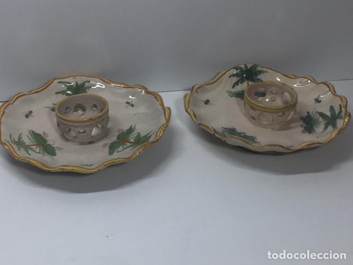 MANCERINAS RIBESALBES SIGLO XVIII (Antigüedades - Porcelanas y Cerámicas - Ribesalbes)