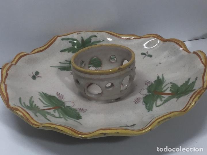 Antigüedades: Mancerinas ribesalbes siglo XVIII - Foto 2 - 150586750