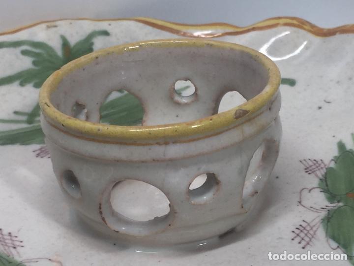 Antigüedades: Mancerinas ribesalbes siglo XVIII - Foto 4 - 150586750