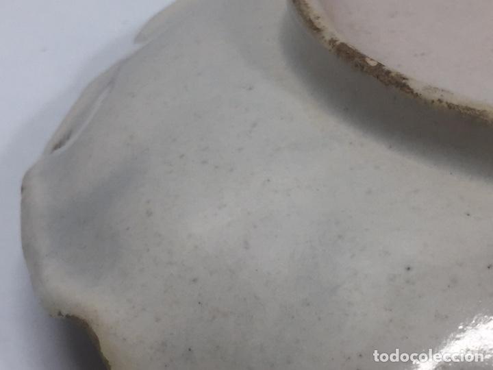 Antigüedades: Mancerinas ribesalbes siglo XVIII - Foto 9 - 150586750