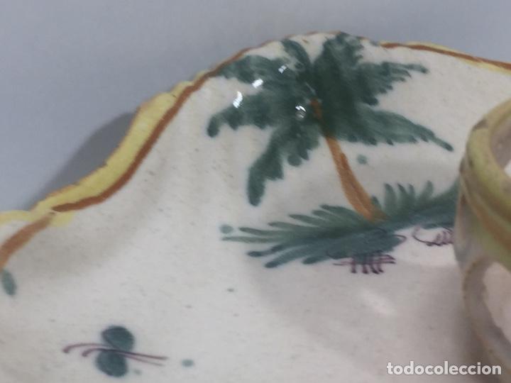 Antigüedades: Mancerinas ribesalbes siglo XVIII - Foto 14 - 150586750