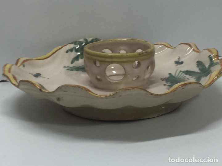 Antigüedades: Mancerinas ribesalbes siglo XVIII - Foto 15 - 150586750