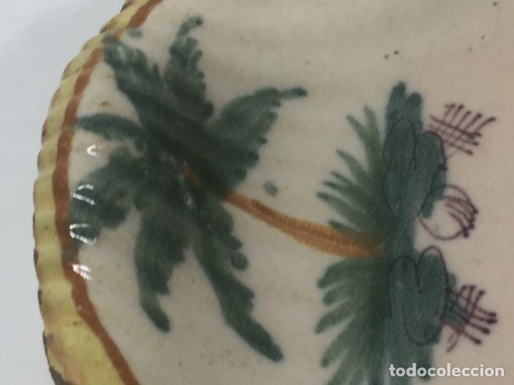 Antigüedades: Mancerinas ribesalbes siglo XVIII - Foto 17 - 150586750