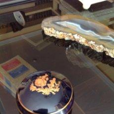 Antigüedades: MUY DELICADO JOYERO/CAJITA DE LIMOGES.. Lote 150619138