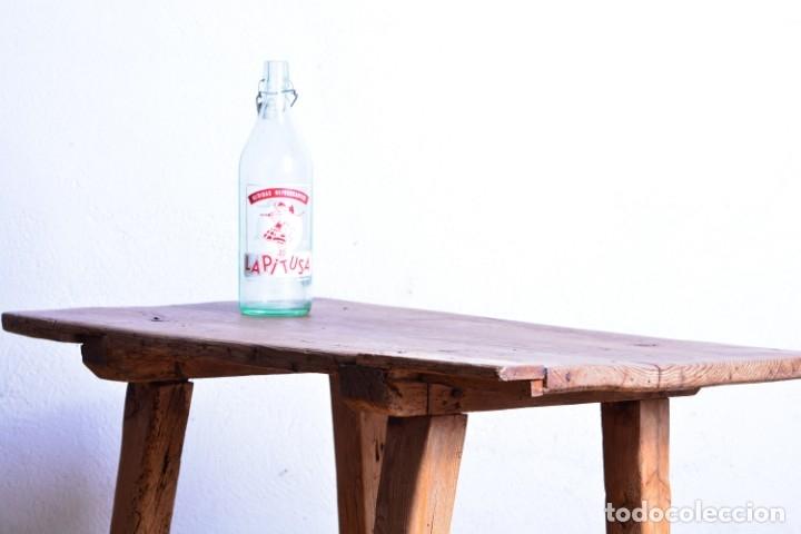 Antigüedades: Mesa tocinera de madera - Antigua mesa matancera - Estilo rústico, casa pueblo, rural - Foto 3 - 45696974