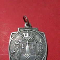 Antigüedades: MEDALLA AL MÉRITO DEL COLEGIO DE LA COMPAÑIA DE SANTA TERESA DE JESUS. 2,5 X 2,5 CM.. Lote 150629018