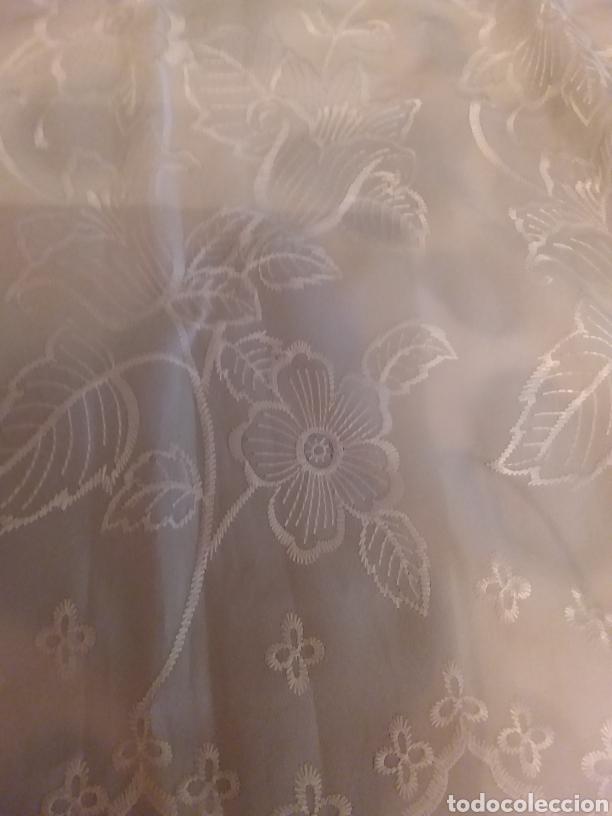 Antigüedades: Fular bordado - Foto 2 - 150631161