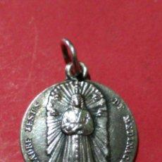 Antigüedades: ANTIGUA MEDALLA DE NTRO PADRE JESUS DE MEDINACELI. PLATA. 3,1 GR. 1,8 CM DE DIÁMETRO.. Lote 150632166