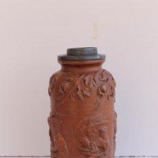 Antigüedades: FRASCO CERAMICO ALEMAN DE TABACO ESTILO TERMO SIGLO XVIII. Lote 150643174