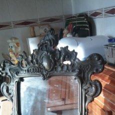 Antigüedades: CORNUCOPIA ANTIGUA Y ESPEJO. Lote 150672702