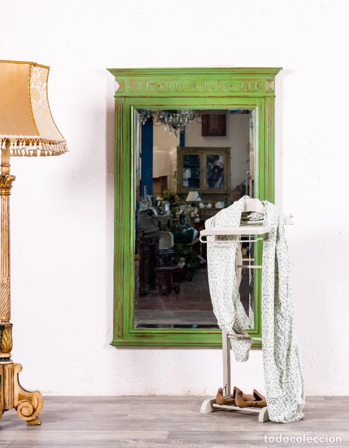 ESPEJO ANTIGUO RESTAURADO EDOUARD (Antigüedades - Muebles Antiguos - Espejos Antiguos)