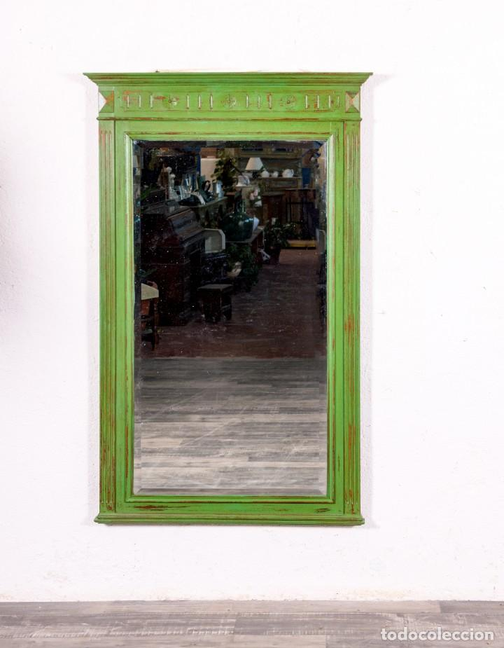 Antigüedades: Espejo Antiguo Restaurado Edouard - Foto 2 - 150737598